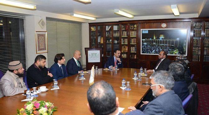Посол КСА в Великобритании посетил Исламский культурный центр в Лондоне