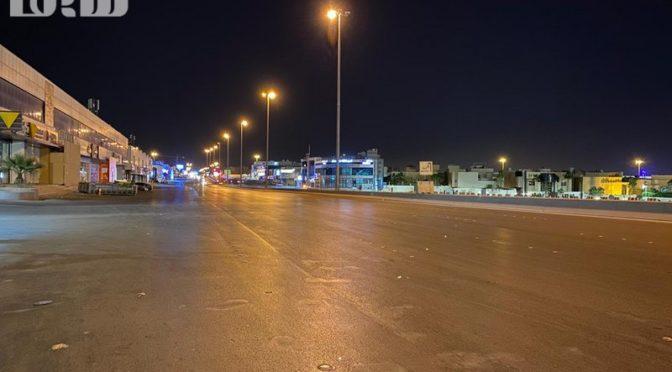 Как выглядят улицы Эр-Рияда с началом комендатского часа