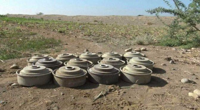 """В рамках проекта """"Масам"""" в течение второй недели мая обезврежены 2782 мины"""