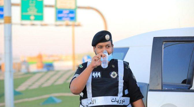 «ВАС» запечатлел  усилия сил безопасности в полевой работе по поддержанию комендантского часа в округе Тариф