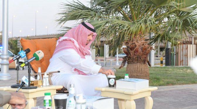 Его Высочество губернатор Северной пограничной провинции совершил ифтар совместно с сотрудниками сил безопасности во время полевой работы