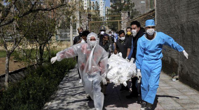 Коронавирус поражает Иран
