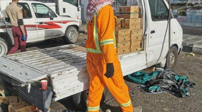 Полевая компания на зелёном рынке в Таифе выявила 7 нарушителей