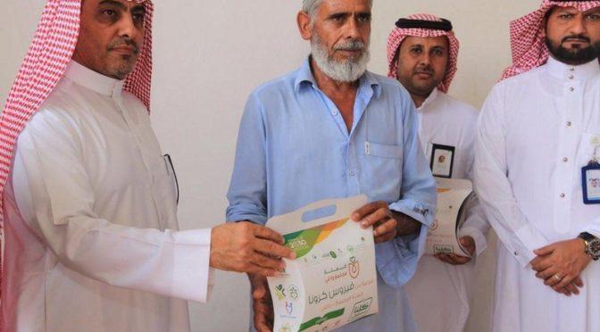 Волонтёры «Общества просвещения» посетили 44  района в  провинции Эр-Рияд