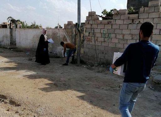 ЦСГД им. короля Салмана продолжает распределять продовольственные корзины палестинским и сирийским беженцам и нуждающимся семьям в Иордании