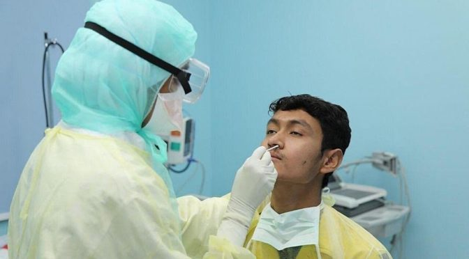 Министерство здравоохранения: зафиксировано 2509 новых случаев заражения коронавирусом, общее число инфицированных возросло до 59854 чел.