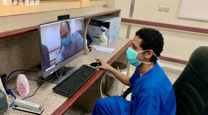 """Фотокорреспондент портала """"Сабк"""" запечатлел усилия и оборудование больницы """"Восточный Арафат"""" по лечению больных коронавирусом"""