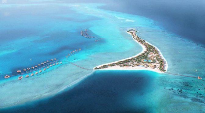 Определены местоположения отелей, которые будут построены на четырех островах в рамках проекта «Красное море»
