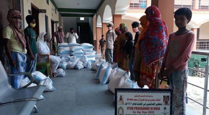 Министерство по делам ислама КСА оказывает помощь более чем 60 000 тысяч человек в Индии