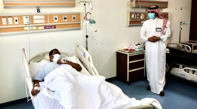 Медицинская служба МВД посещает пациентов в больницах сил безопасности в Эр-Рияде, Мекке и Дамаме