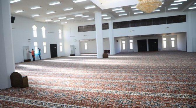 Проводится дезинфекция квартальных и джума-мечетей округа Тариф перед приёмом молящихся