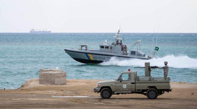 Береговая охрана принудила вернуться три иранских катера после вхождения в территориальные воды Саудии