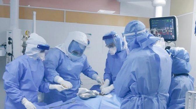 """""""Сабк"""" запечатлел спасение жизни пациента, поражённого коронавирусом, в Наджране"""