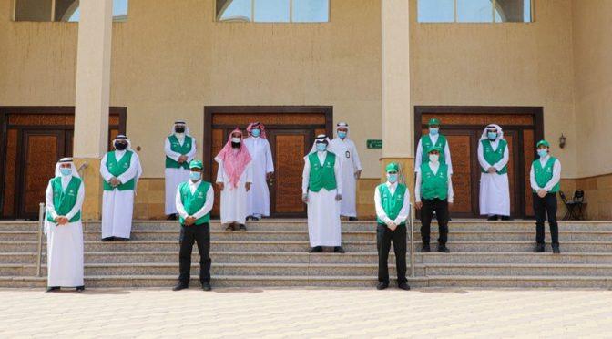 «Хадейят» и департамент по делам Ислама начали инициативу по дезинфекции 250 мечетей в Мекке