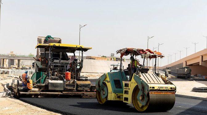 Администрация Ахсы реализует проект перекрёстка шоссе им.Короля Фахда и шоссе им.Короля Абдаллаха