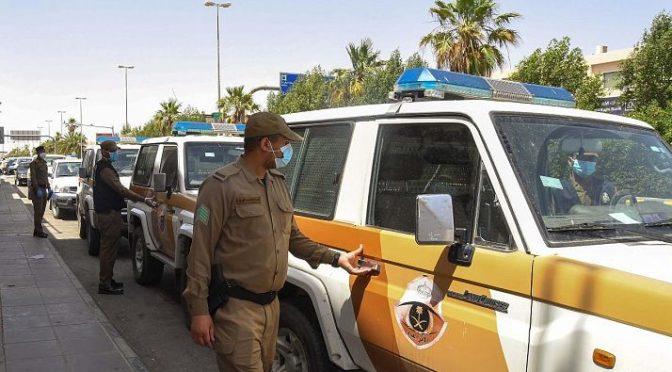 Фотокорреспондент «ВАС» сопутствовал силам безопасности на рынках в Араръ при пресечении отсуствия масок
