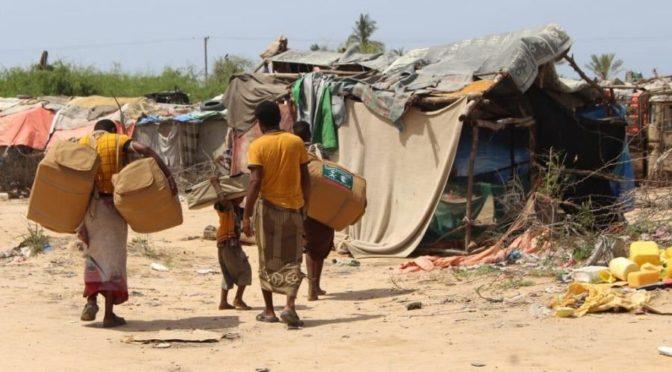 Центр гуманитарной помощи им.Короля Салмана распределил 45 мобильных убежищ пострадавшим от ливней в провинции Хадрамоут