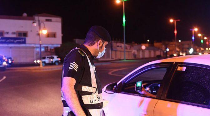 Силы безопасности округа Хакла интенсифицируют полевую работу по контролю за соблюдением частичного комендантского часа