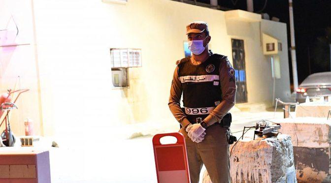"""""""ВАС"""" зафиксировал полевую работу дорожной полиции на въезде в округ Дарба"""