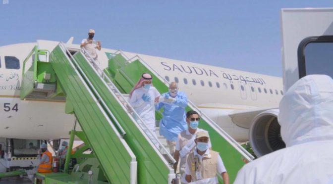 Департамент здравоохранения провинции Джуф отрабатывает неотложные мероприятия с инфицированным короновирусом в аэропорту Джуф