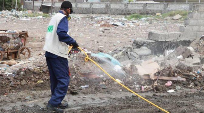 Центр гуманитарной помощи им.Короля Салмана продолжает неотложные мероприятия по уборке и оздоровлению окружающей среды в провинции Аден