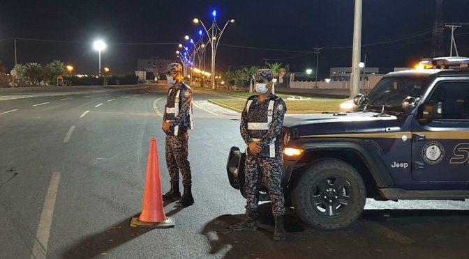 «ВАС» запечатлел усилия сил безопасности округа Амладж в последнюю ночь действия комендантского часа