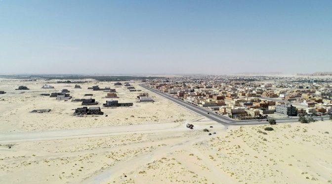 Муниципалитет Ахсы реализует проект развития автодорог на севере аль-Айуна
