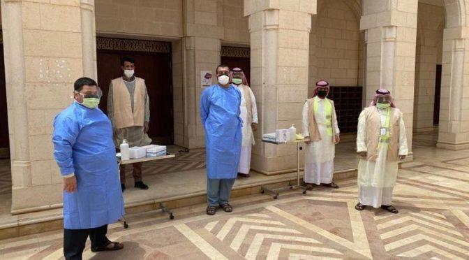 Более чем 2000 волонтёров департамента здравоохранения Джуфа участвуют в противостоянии коронавирусной инфекции