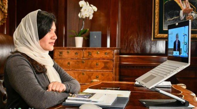 Министр спорта КСА поздравил принцессу Риму бинт Бандар с членством в МОК