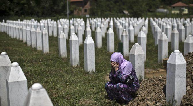 Королевство приняло участие в мероприятии, посвященному 25-й годовщине геноцида в Сребренице