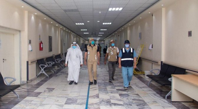 Начальник департамента здравоохранения провинции Благородной Мекки произвёл неожданный инспекционный визит в отделения неотложной помощи больниц и амбулаторные центры «Татман»