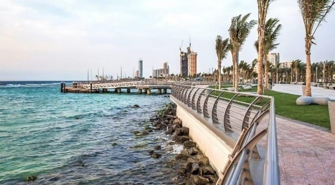 По волнам Красного моря прошёл круизный лайнер в первом рейсе через порт им.Короля Абдаллаха