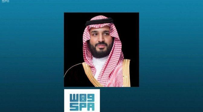 Его Высочество наследный принц принял телефонные звонки