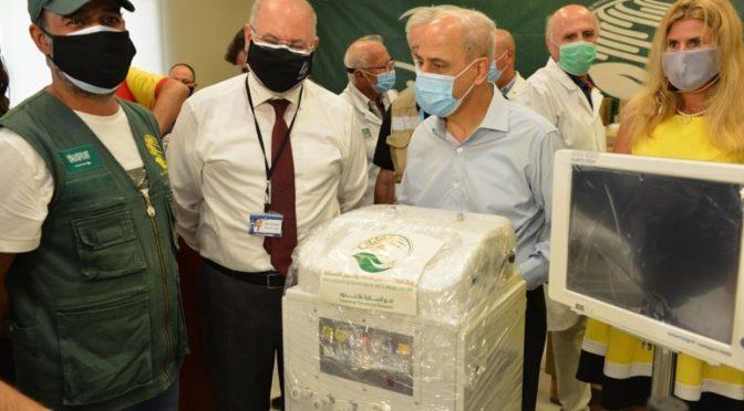 Центр им.Короля Салмана продолжает оказывать гуманитарную помощь больницам Ливана