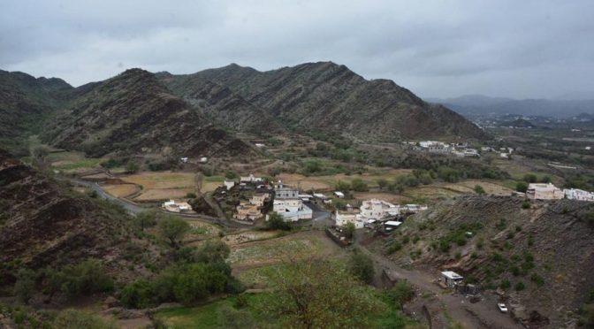 Дожди над округом Мухайял провинции Асир