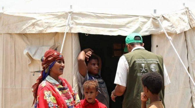 ЦСГД им. короля Салмана продолжает оказывать помощь пострадавшим от проливных дождей в провинции Ходейда