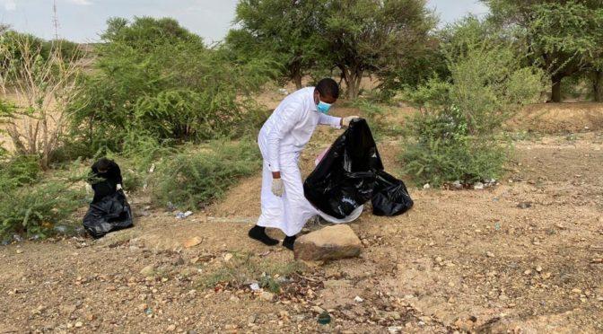 Молодёжная комиссия в Акике реализует инициативу «Имата» по очистке природных парков и вади округа
