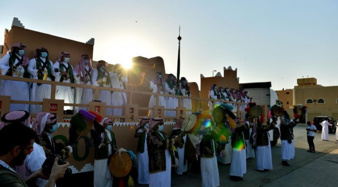 Эр-Рияд празднует День Отечества