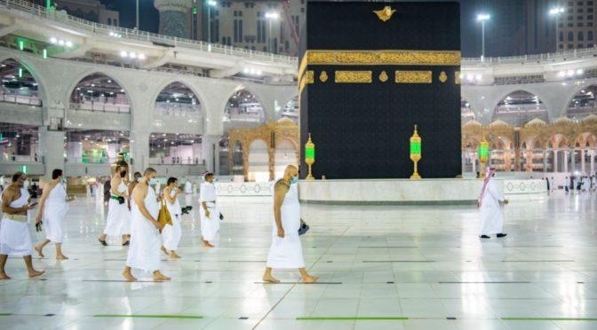 Запретная Мечеть принимает совершающих Умру