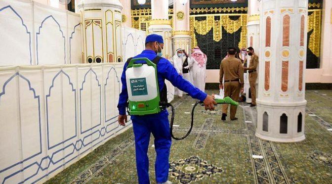 В Мечети Пророка началась вторая фаза постепенного полного открытия мечети для верующих