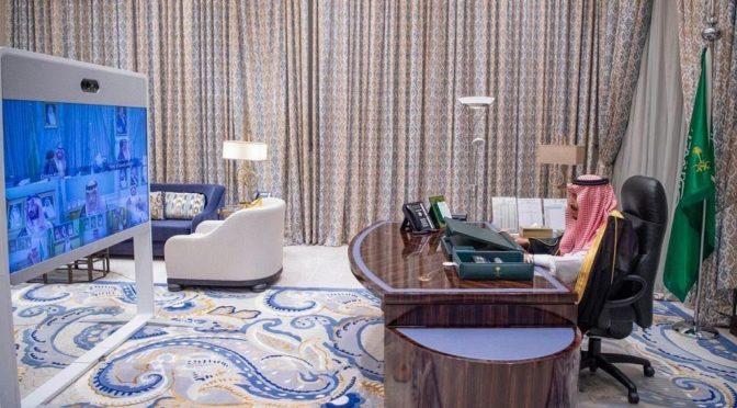 По видеосвязи состоялось заседание Совета министров КСА под председательством Служителя Двух Святынь