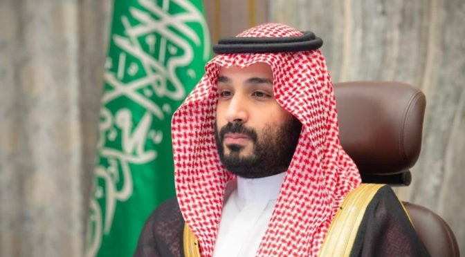 Его Высочество наследный принц благодарит Служителя Двух Святынь за его речь в Совете Шуры