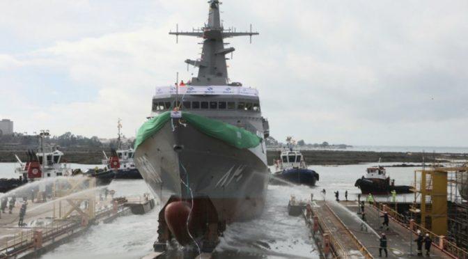 """Командующий ВМФ спускает на воду корабль """"Его Высочество Король Дирийа"""""""