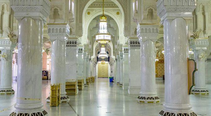 159 тонн охлаждённой воды кондиционируют воздух в Запретной Мечети