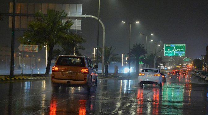 Дожди в провинции Касым