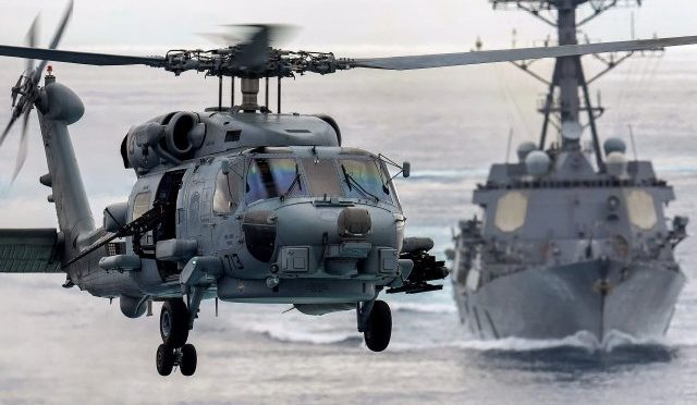 Запущен вертолёт морского базирования MH-60R