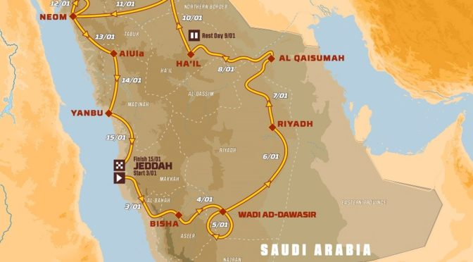 """Ралли """"Дакар"""" в Саудии"""