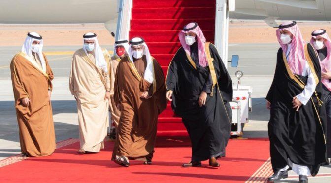 Лидеры стран Залива в аль-Ула