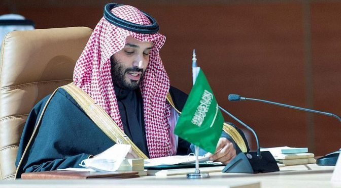 Его Высочество наследный принц принял телефонный звонок от министра обороны США