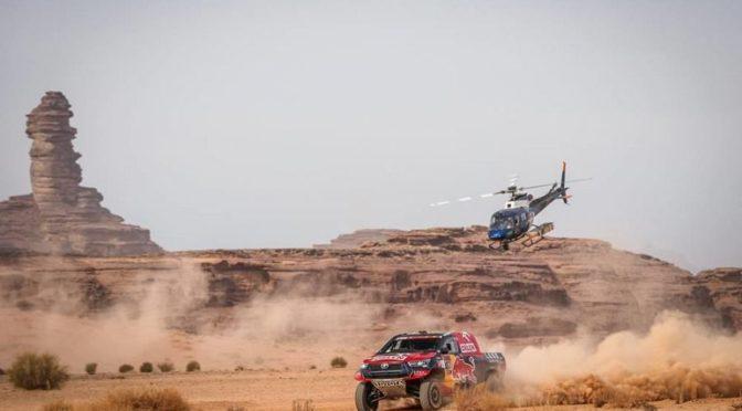 ар-Роджихи возглавил десятый этап гонки Дакар